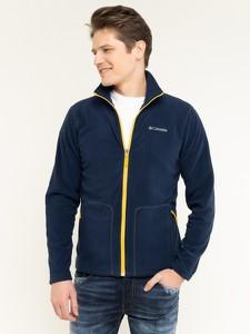 Granatowa bluza Columbia z plaru