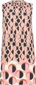Różowa sukienka Marella bez rękawów