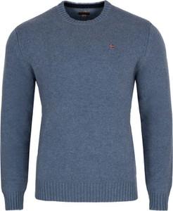 Niebieski sweter Napapijri