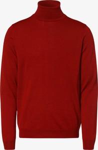 Czerwony sweter Finshley & Harding z wełny