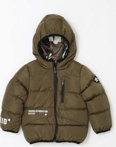 Zielona kurtka dziecięca born2be