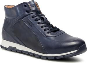 Granatowe buty sportowe Wojas