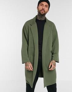 Zielony płaszcz męski Asos