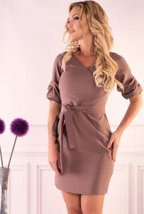 Sukienka MERRIBEL mini z dekoltem w kształcie litery v