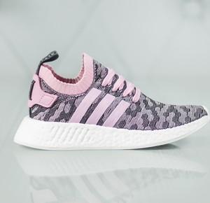 Buty sportowe Adidas nmd na koturnie sznurowane
