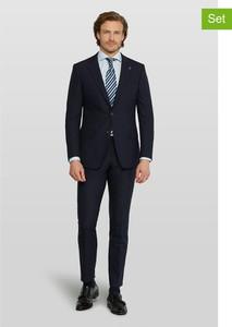 Czarny garnitur Van Gils