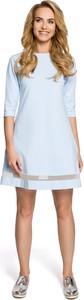 Sukienka MOE w stylu casual z tiulu