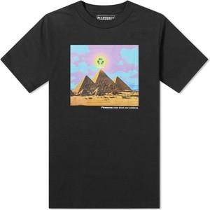 Czarny t-shirt Pleasures