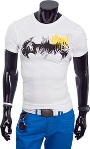 T-shirt Glo-Story z bawełny w młodzieżowym stylu z krótkim rękawem