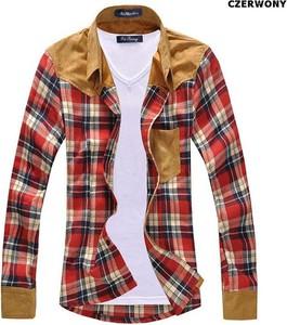 Koszula Yaze z długim rękawem z bawełny