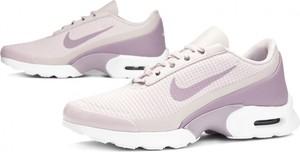 Różowe buty sportowe Nike ze skóry ekologicznej sznurowane