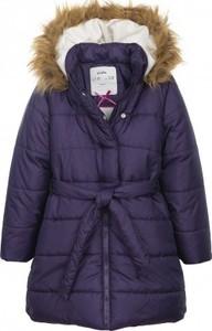 Fioletowy płaszcz dziecięcy Endo z tkaniny