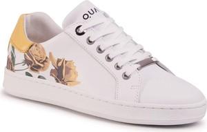 Buty sportowe Quazi z płaską podeszwą sznurowane