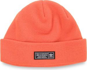 Pomarańczowa czapka Adidas