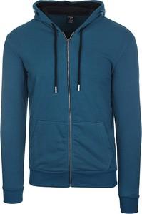 Niebieska bluza Neidio w młodzieżowym stylu
