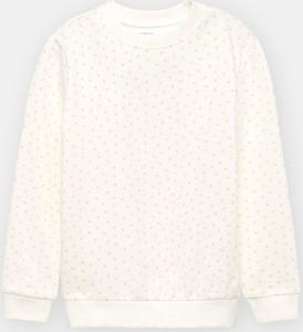 Granatowa bluza dziecięca Sinsay