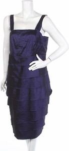 Granatowa sukienka M.I.M na ramiączkach