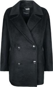 Czarny płaszcz Guess by Marciano z tkaniny w stylu casual