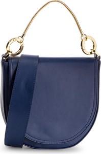 Niebieska torebka Simple średnia