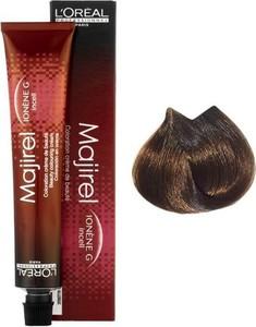 L'Oreal Paris Loreal Majirel   Trwała farba do włosów - kolor 5.024 naturalnie opalizująco-miedziany jasny brąz 50ml - Wysyłka w 24H!