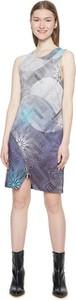 Sukienka Desigual bez rękawów z okrągłym dekoltem