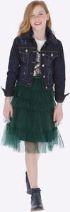 Zielona spódniczka dziewczęca Mayoral z bawełny