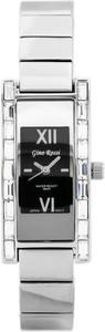 ZEGAREK DAMSKI GINO ROSSI - 5478B - CIRIA (zg552b) black/silver + BOX - Srebrny