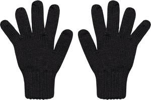 Czarne rękawiczki Barbaras