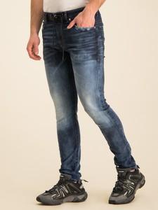 Granatowe jeansy Diesel
