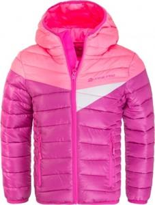 Różowa kurtka dziecięca Alpine Pro