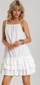 Sukienka Renee mini bez rękawów trapezowa