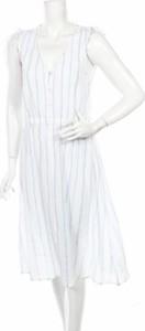 Sukienka Oysho bez rękawów midi rozkloszowana