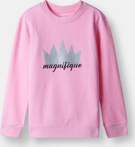 Różowa bluza dziecięca Sinsay
