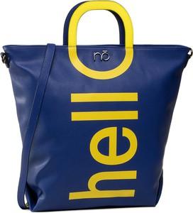 Niebieska torebka eobuwie.pl w młodzieżowym stylu na ramię