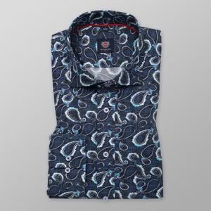 Granatowa koszula Willsoor w młodzieżowym stylu