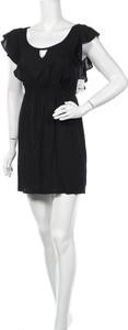 Sukienka Lush mini z okrągłym dekoltem prosta