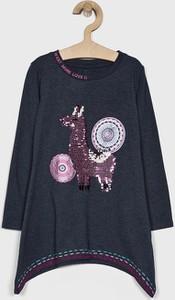 Granatowa koszulka dziecięca Desigual