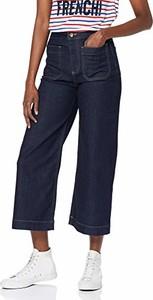 Granatowe jeansy amazon.de w stylu retro