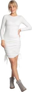 Sukienka Lalupa z bawełny mini w stylu casual