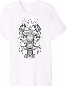 T-shirt Geometric Lobster z krótkim rękawem
