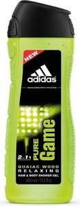 Adidas Pure Game, żel pod prysznic, 400 ml