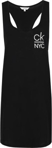 Czarna sukienka Calvin Klein prosta