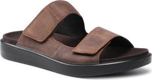 Brązowe buty letnie męskie Ecco