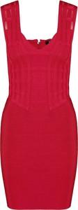 Sukienka Guess by Marciano ołówkowa bez rękawów