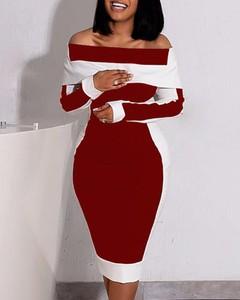 Sukienka Kendallme hiszpanka z długim rękawem