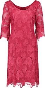 Sukienka Vera Mont z okrągłym dekoltem