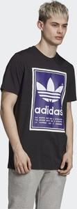 T-shirt Adidas z krótkim rękawem z bawełny