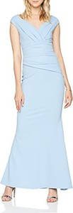 Niebieska sukienka Quiz maxi
