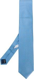 Błękitny krawat Salvatore Ferragamo