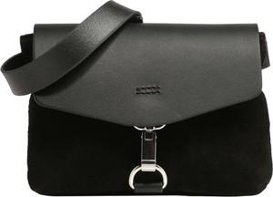 Czarna torebka Mint&berry mała w sportowym stylu na ramię